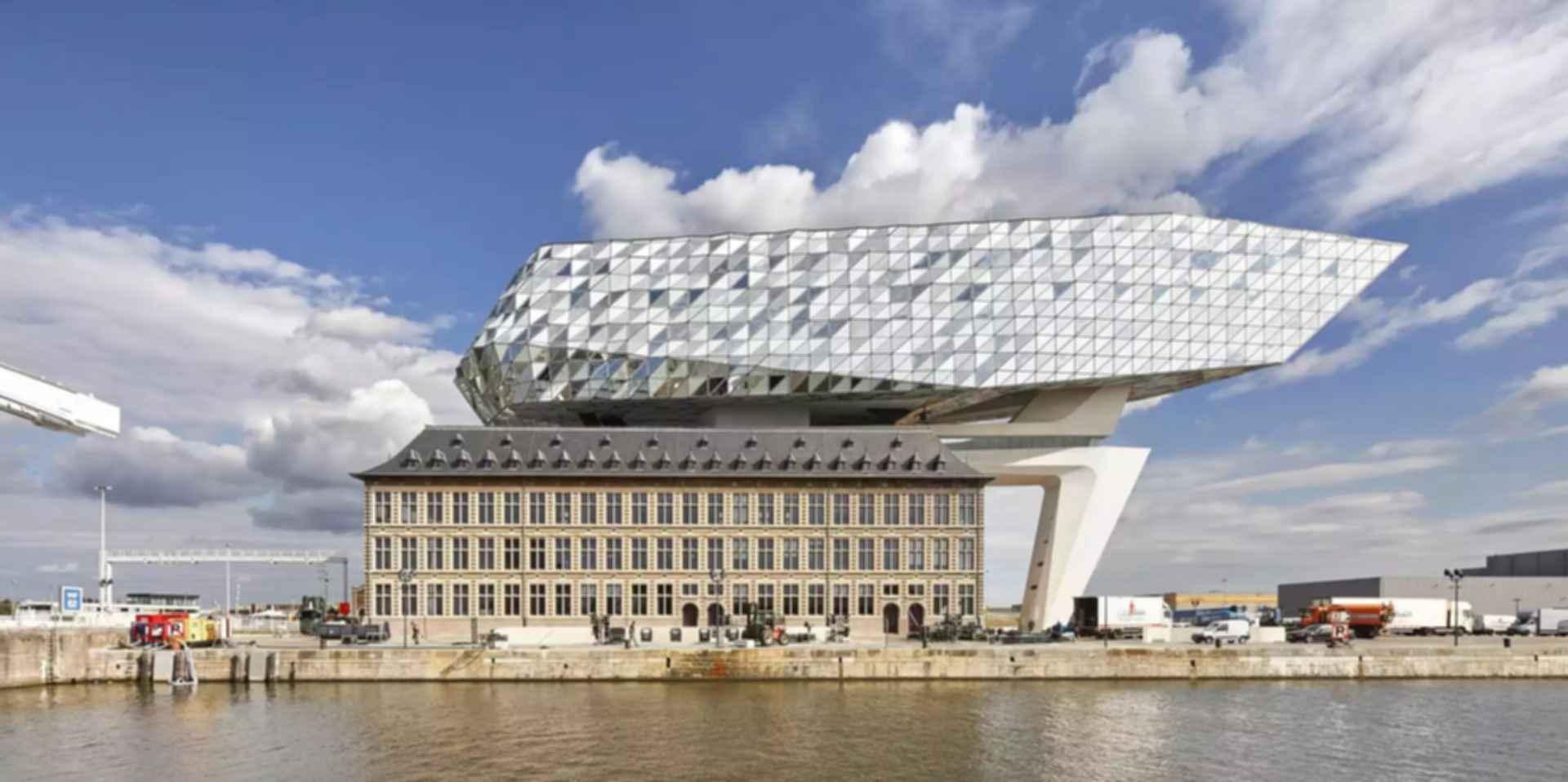 Antwerp Port House - Exterior/Landscape