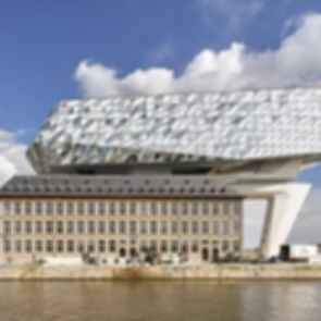 Antwerp Port House - Exterior/Landscape