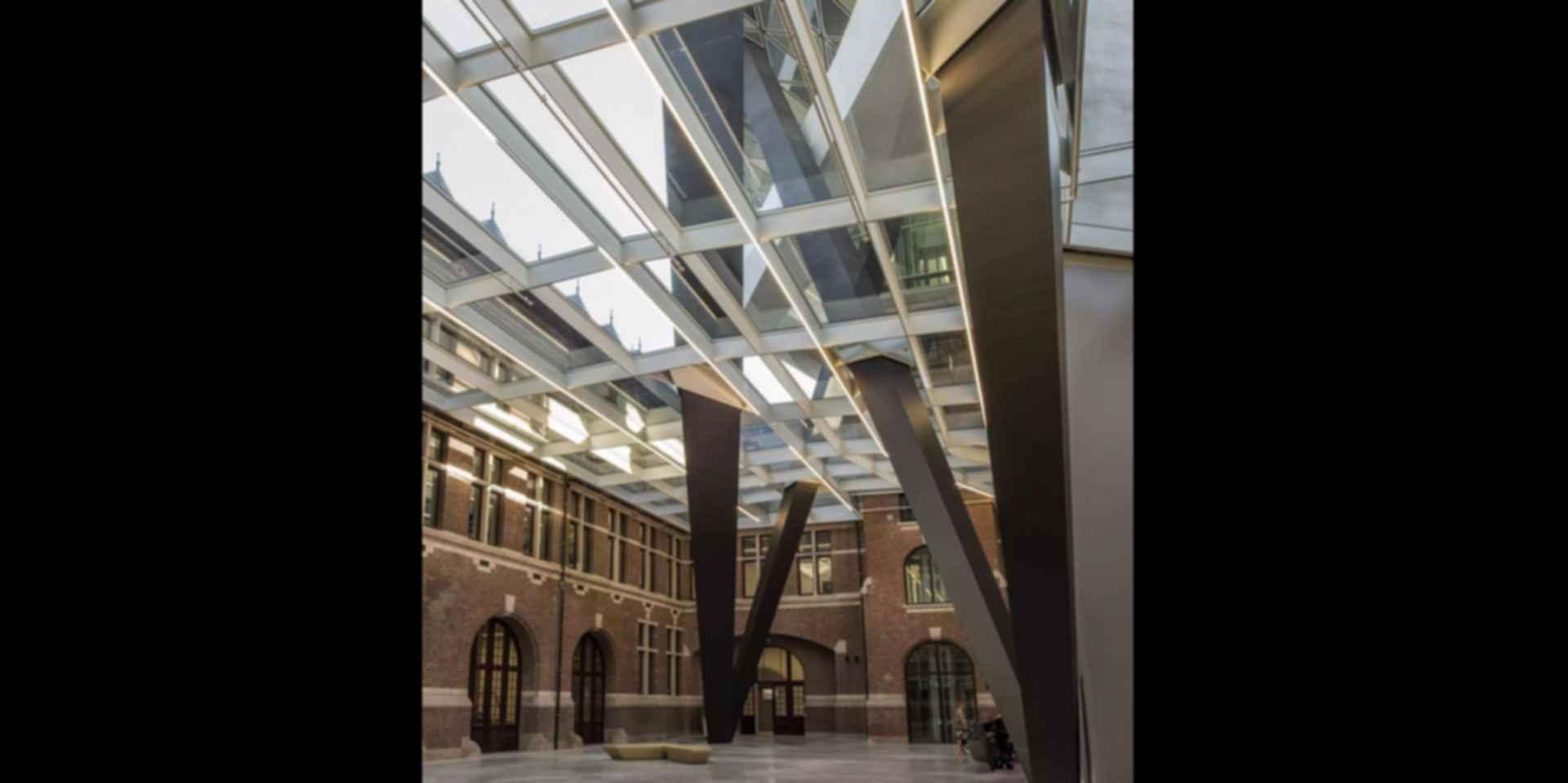 Antwerp Port House - Interior/Courtyard