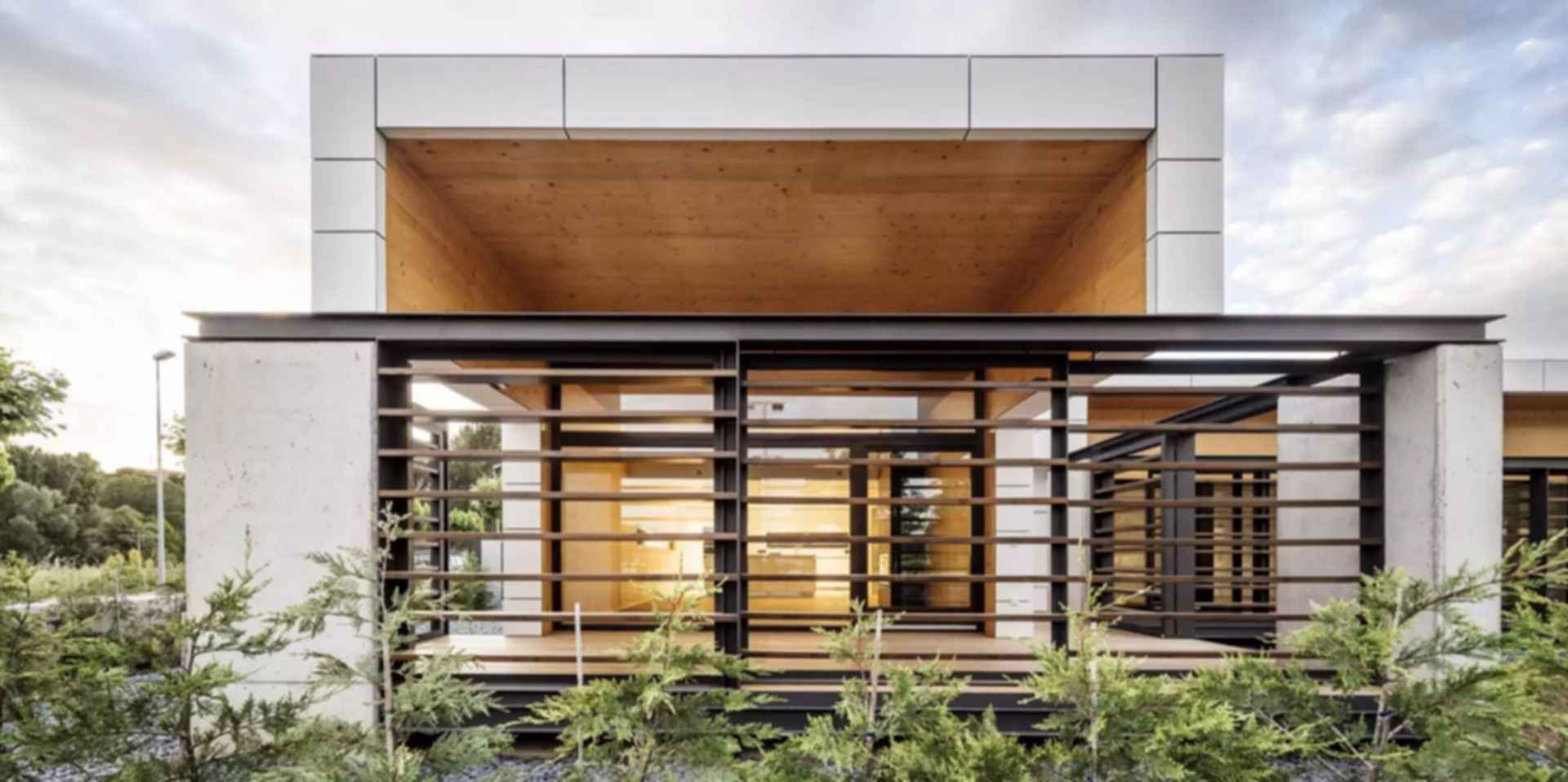 Low Energy Consumption Residences - Exterior