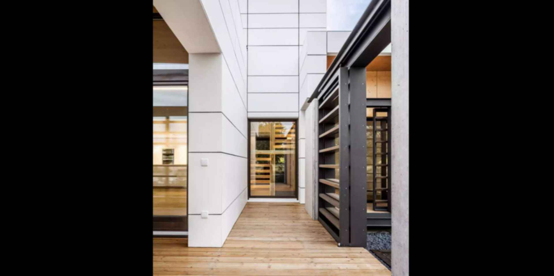 Low Energy Consumption Residences - Exterior/Decking