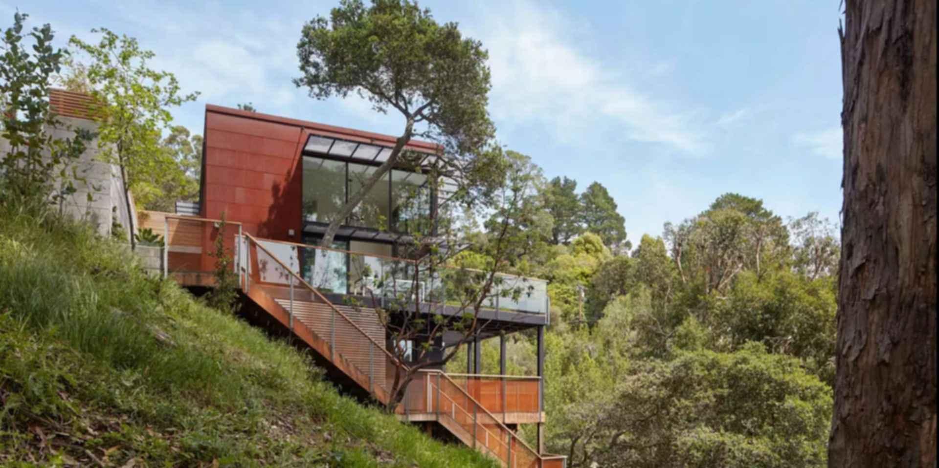 Tamalpais Residence - Exterior/Landscape