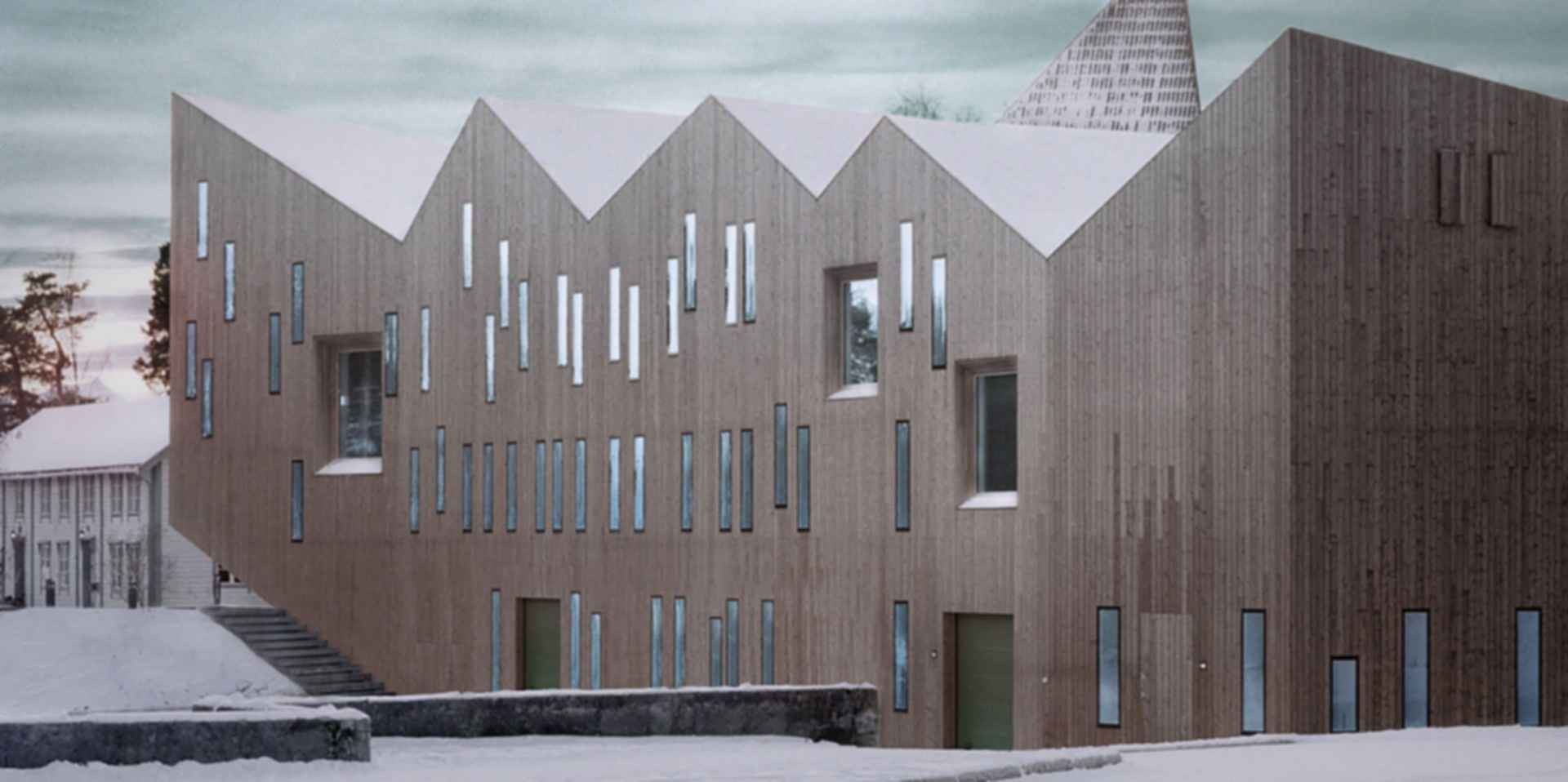 Romsdal Folk Museum - Exterior