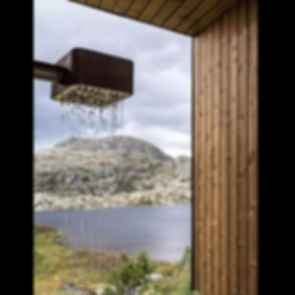 Skapet Mountain Lodges - Shower