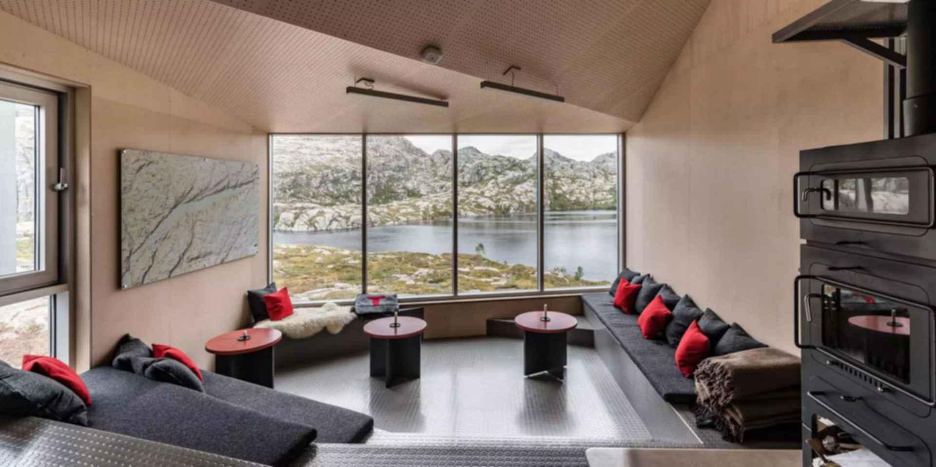 Skapet Mountain Lodges - Lounge