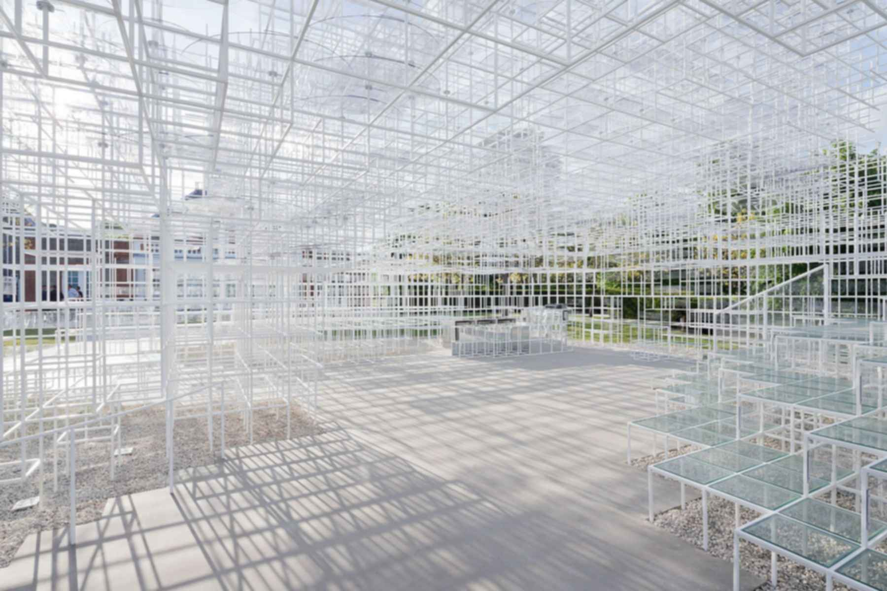 Serpentine Gallery Pavilion 2013 - Interior