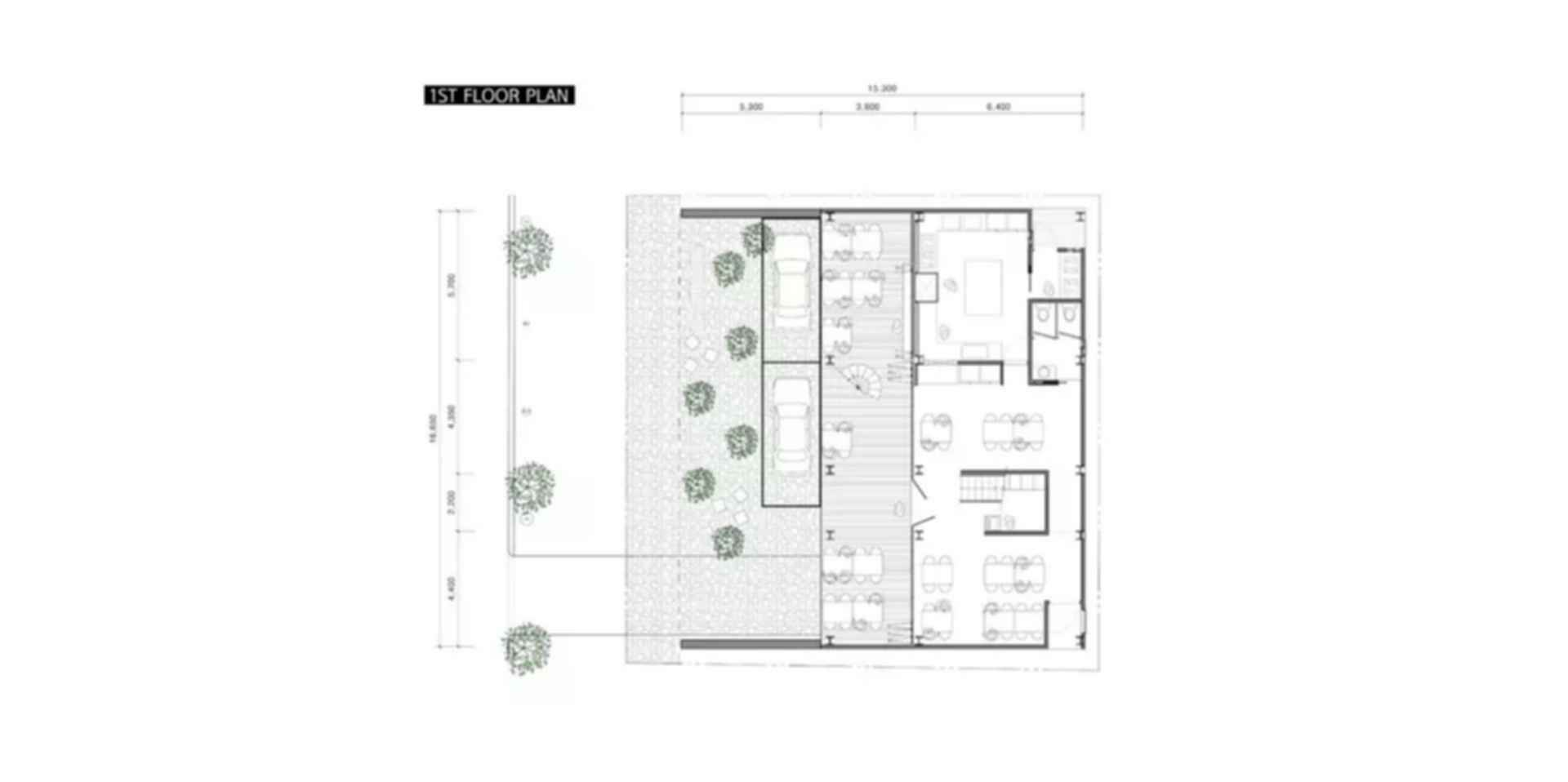 The Forest House - Floor Plan