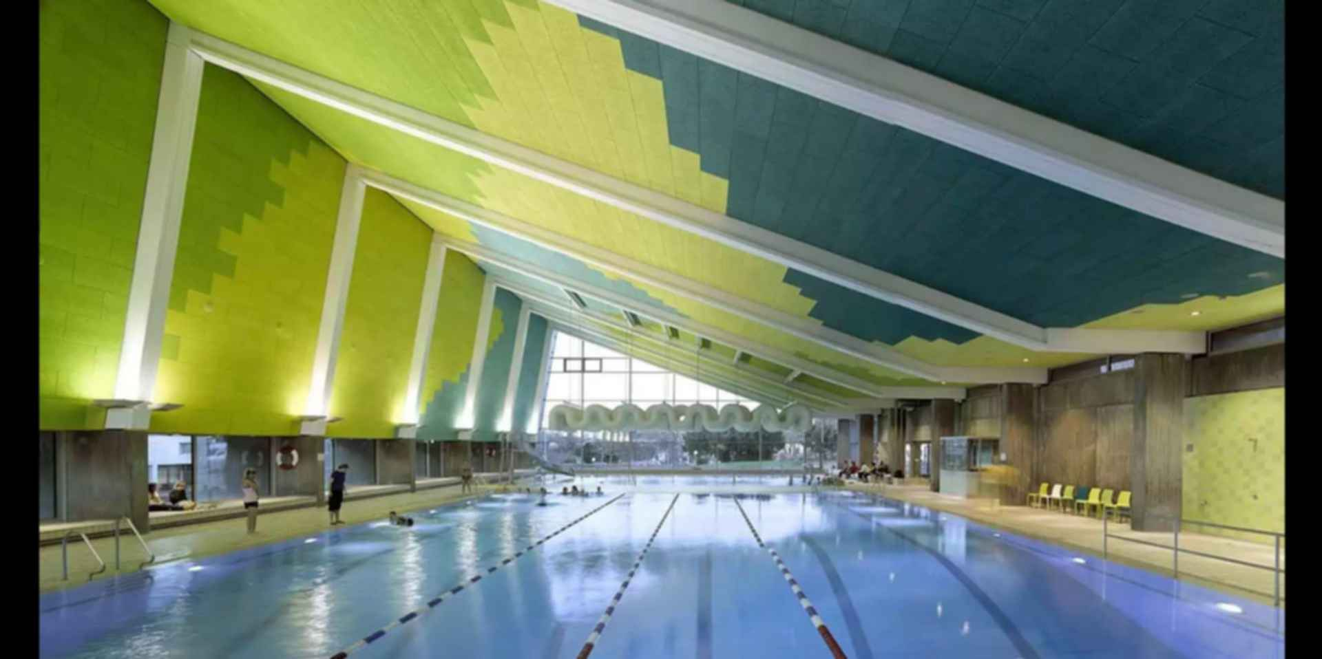 Sports Center in Leonberg - Interior/Swimming Pool