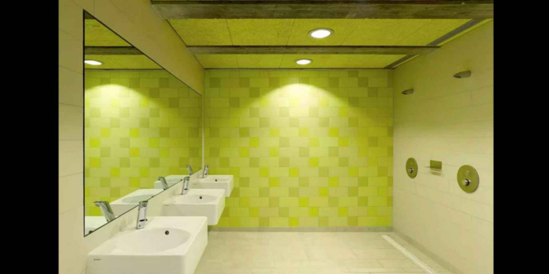 Sports Center in Leonberg - Bathroom