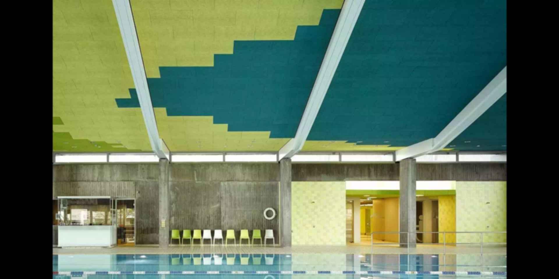 Sports Center in Leonberg - Interior/Pool