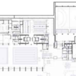 Sports Center in Leonberg - Floor Plan
