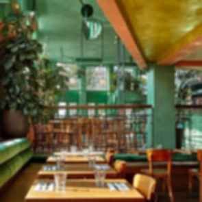 Bar Botanique Cafe Tropique - Interior