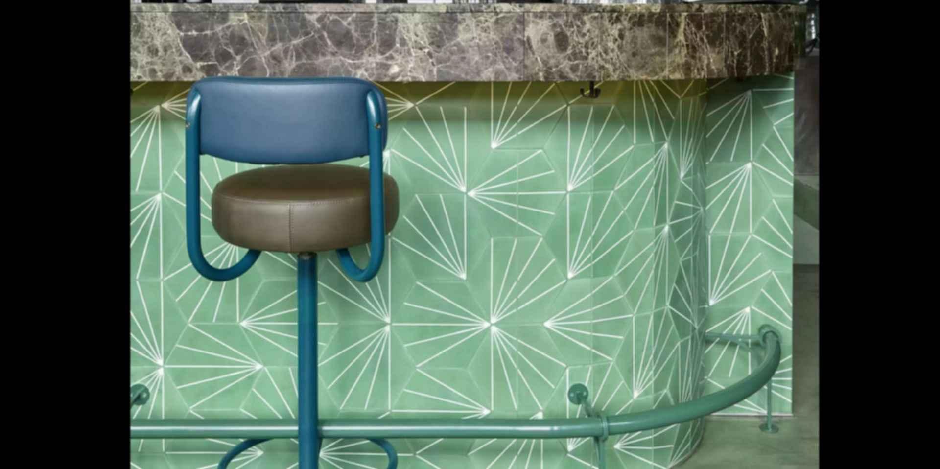 Bar Botanique Cafe Tropique - Interior/Wall Tiles