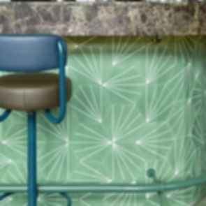 Bar Botanique Cafe Tropique - Interior/Wall Tiles