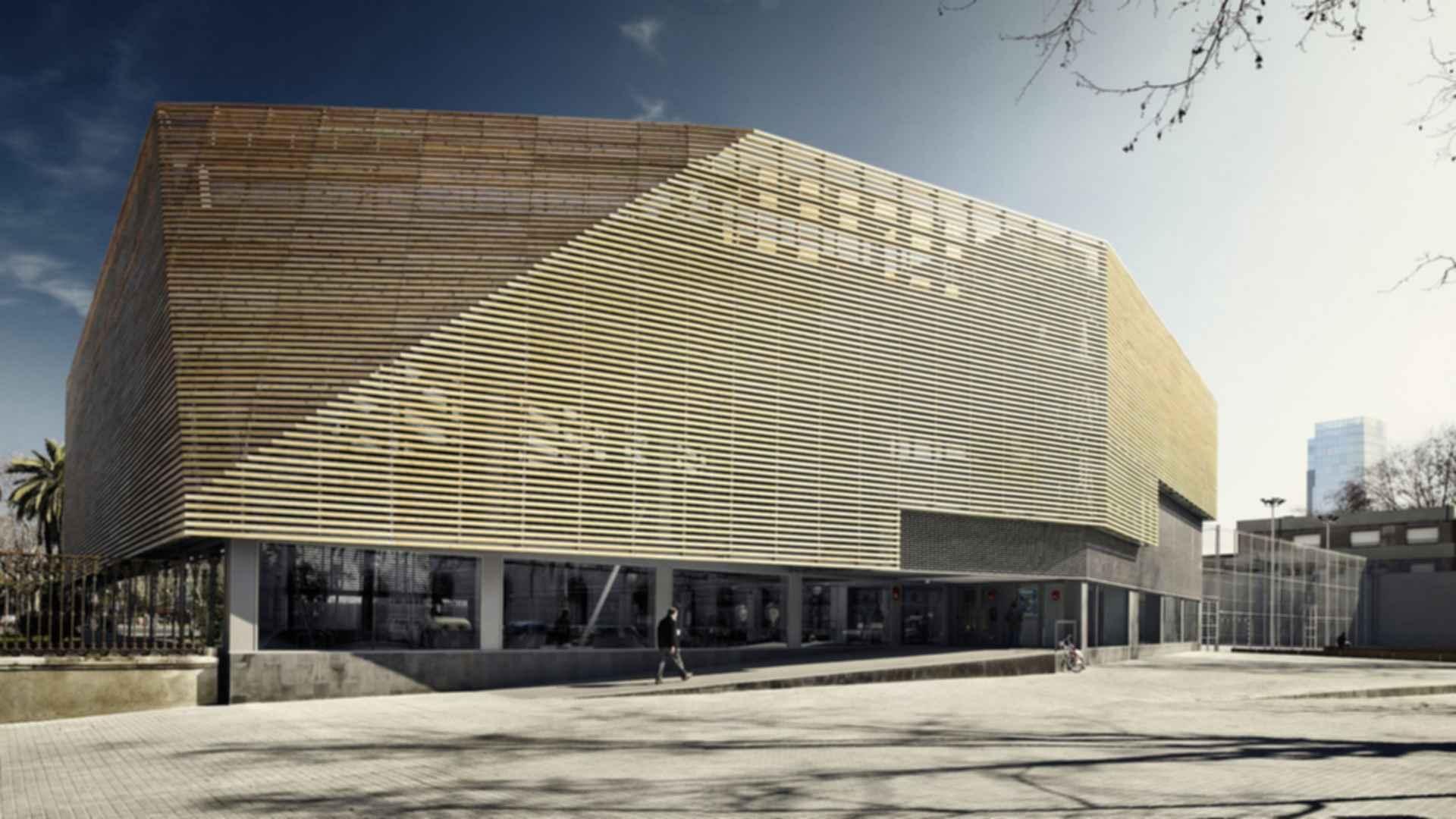 Ciutadella Park Sports Center - Exterior/Entrance