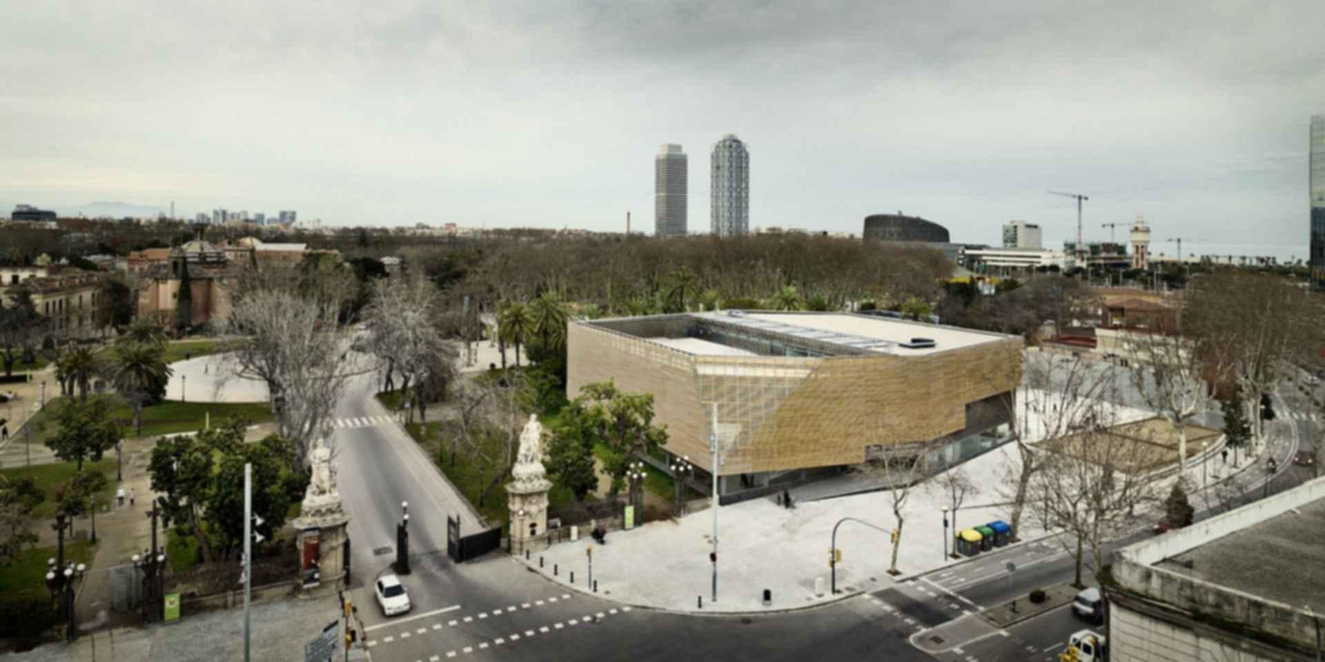 Ciutadella Park Sports Center - Exterior/Landscape
