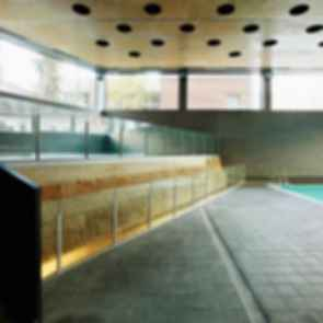 Ciutadella Park Sports Center - Interior/Pool