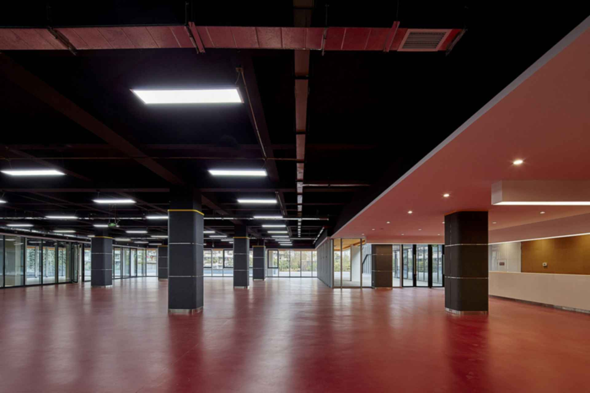 San Wayao Community Center - Interior