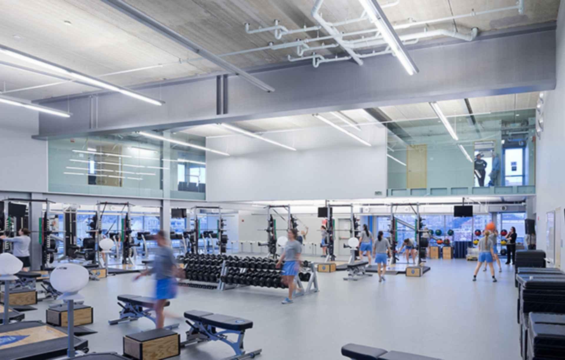 Campbell Sports Center - Interior/Gym