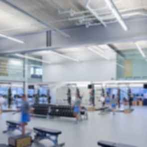 Campbell Sports Center - Interior/Gym