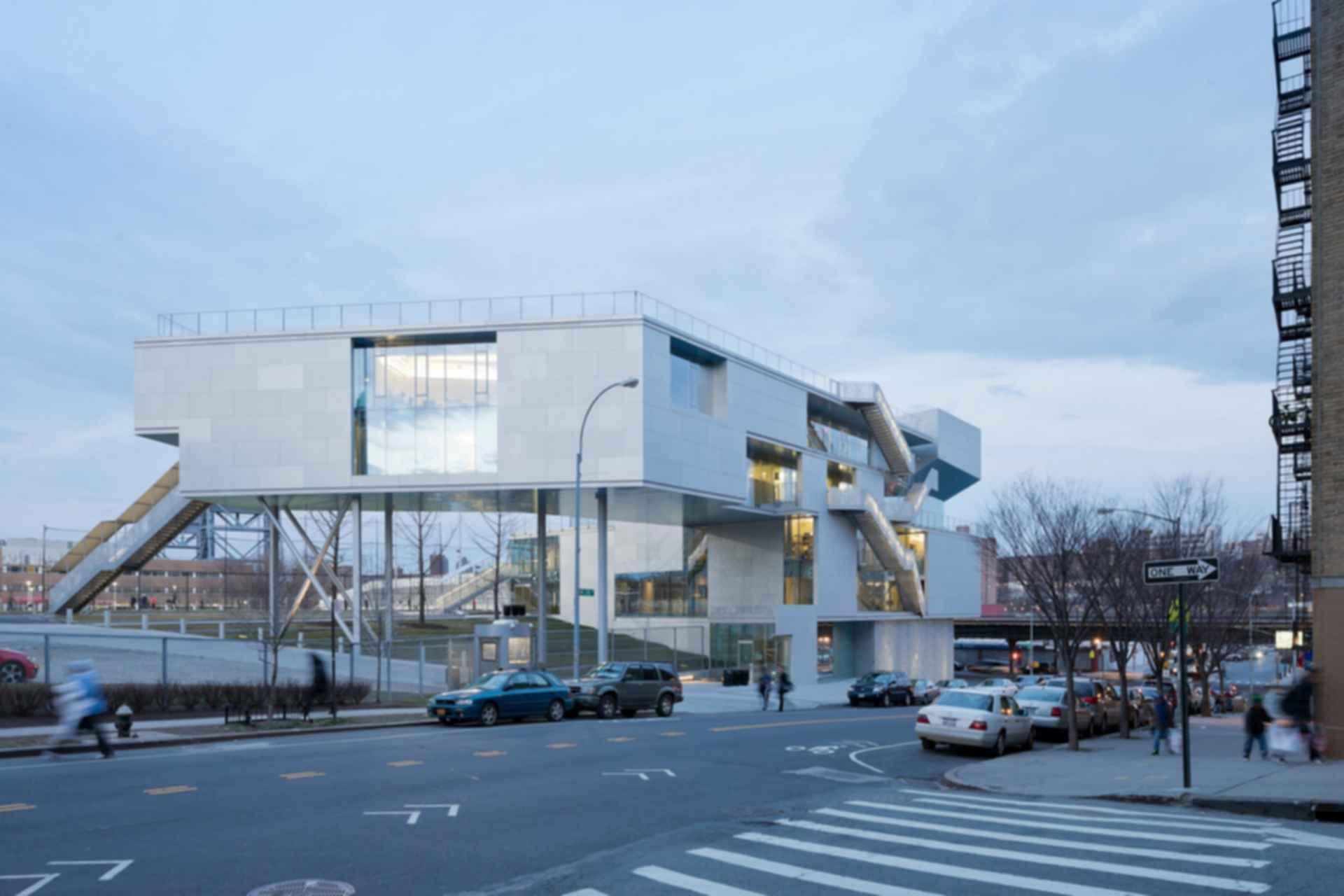 Campbell Sports Center - Exterior/Street View