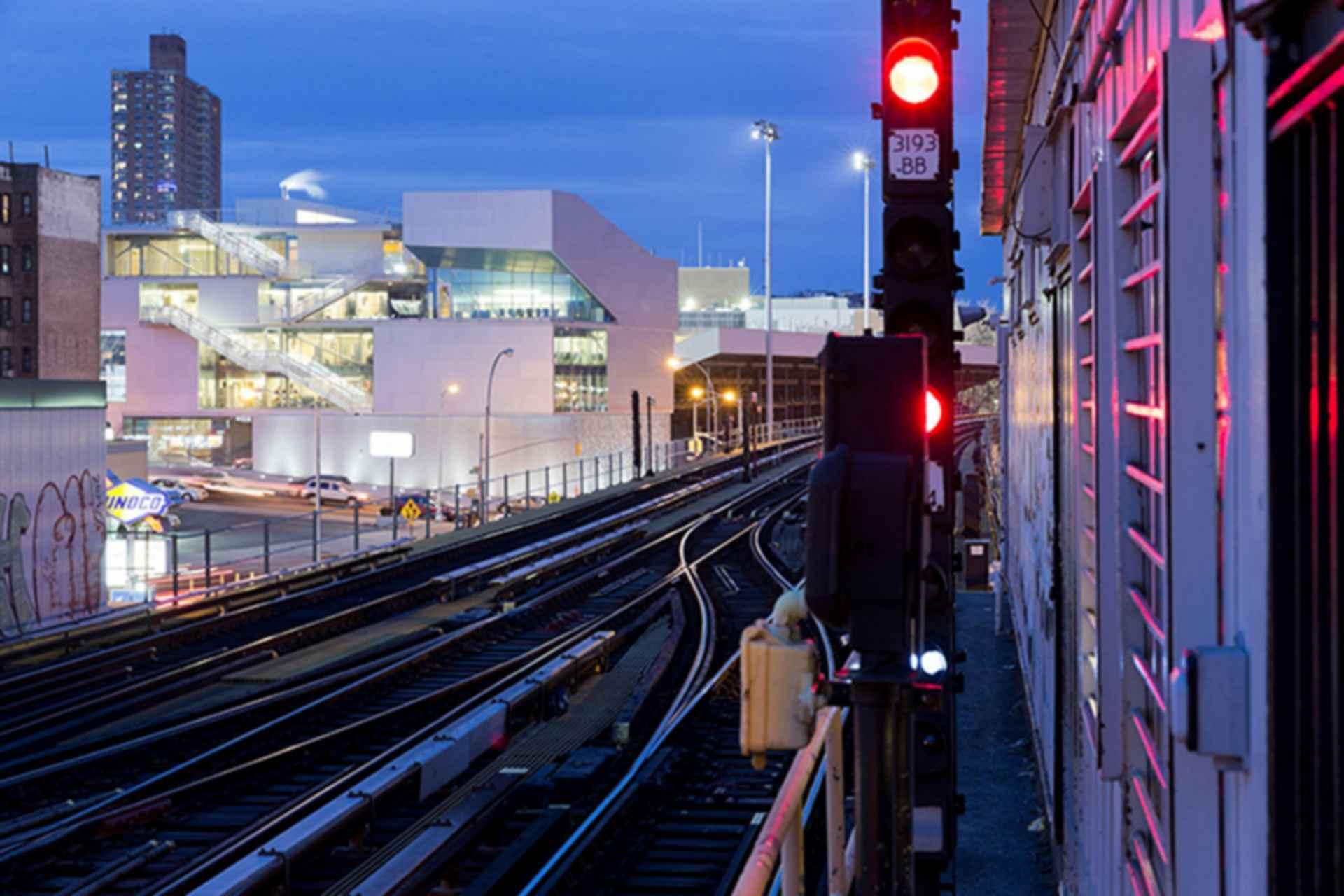 Campbell Sports Center - Exterior/Train Tracks