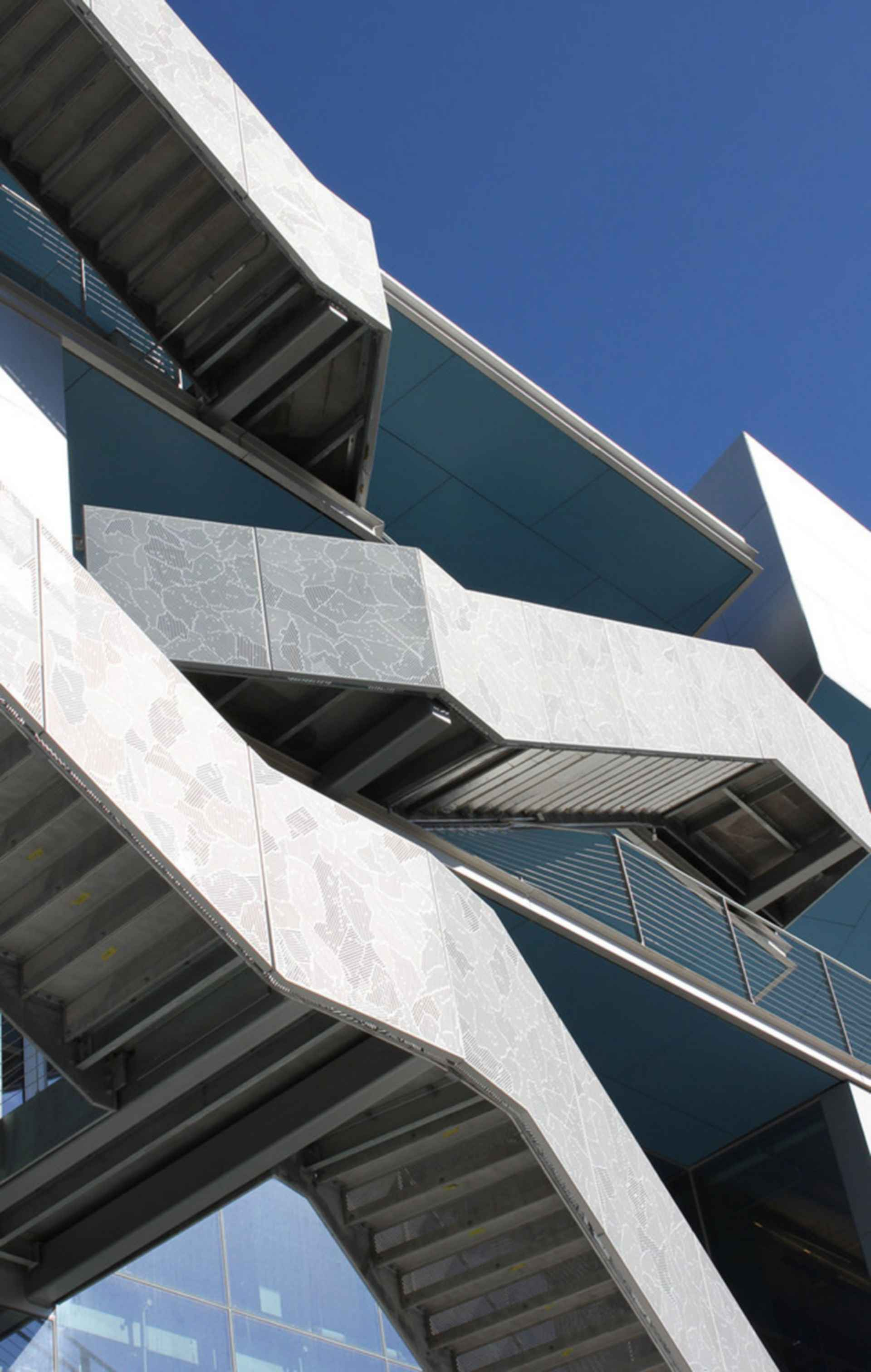 Campbell Sports Center - Stairs