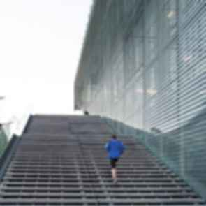 Sports Center Jules Ladoumegue - Stairs
