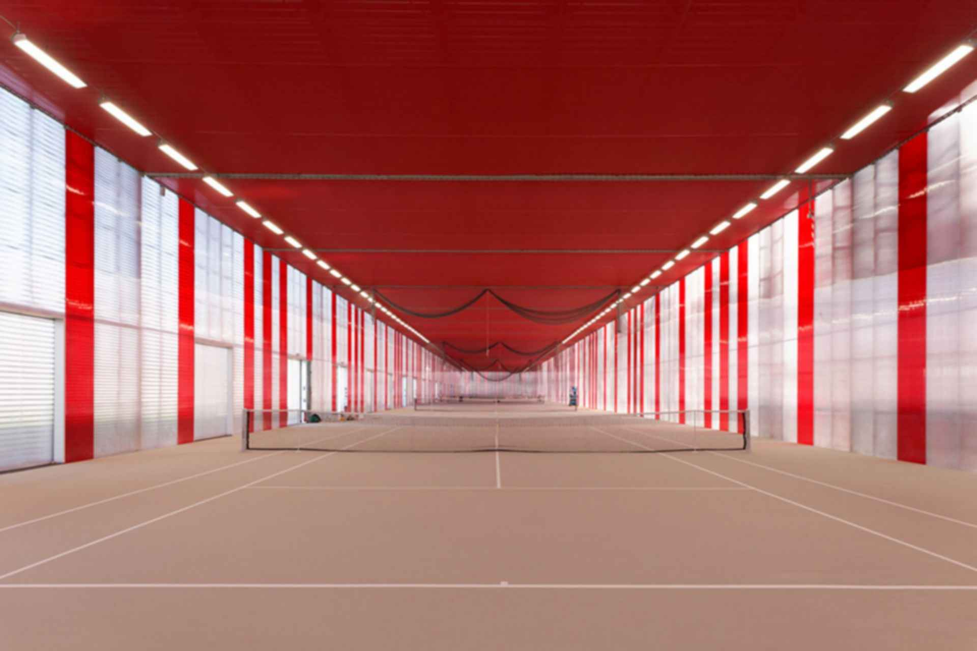 Sports Center Jules Ladoumegue - Interior/Tennis Courts