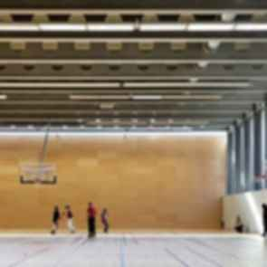 Sports Center Jules Ladoumegue - Interior/Basketball Court