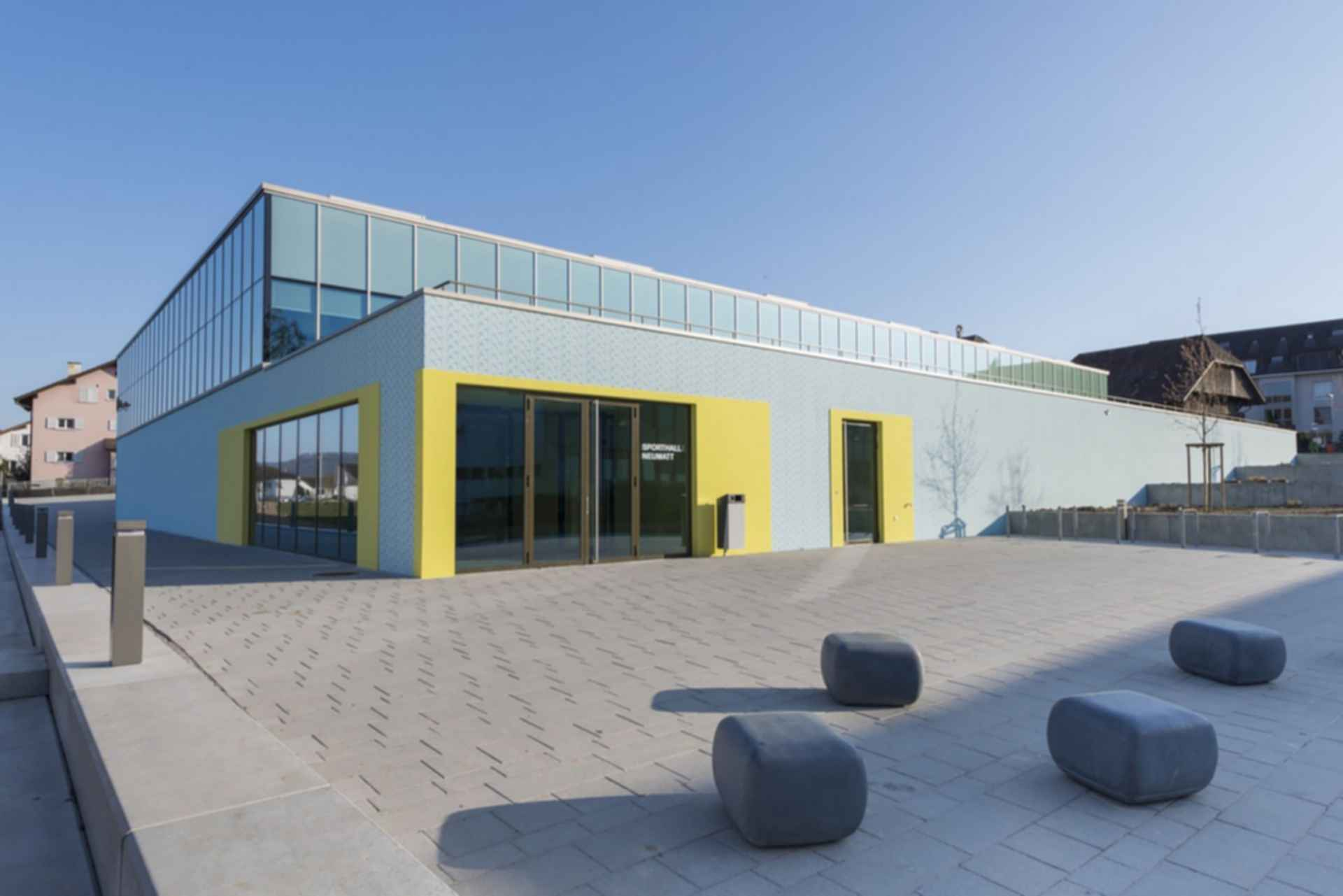 Neumatt Sports Facility - Exterior/Entrance