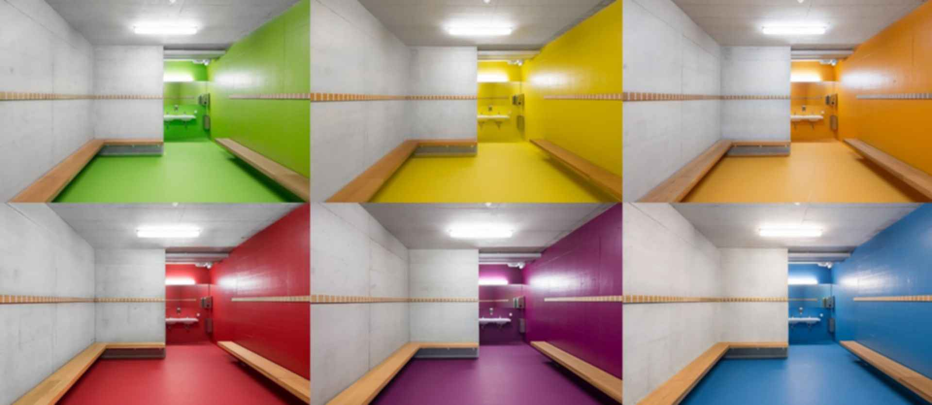 Neumatt Sports Facility - Interior Bathrooms
