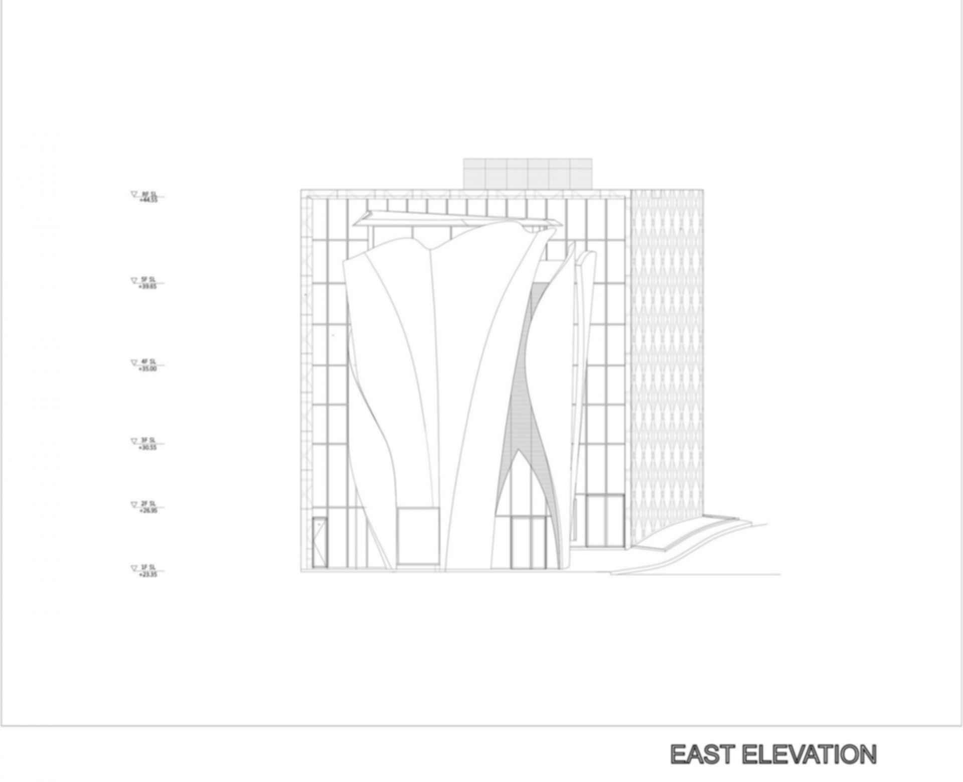 House of Dior - East Elevation