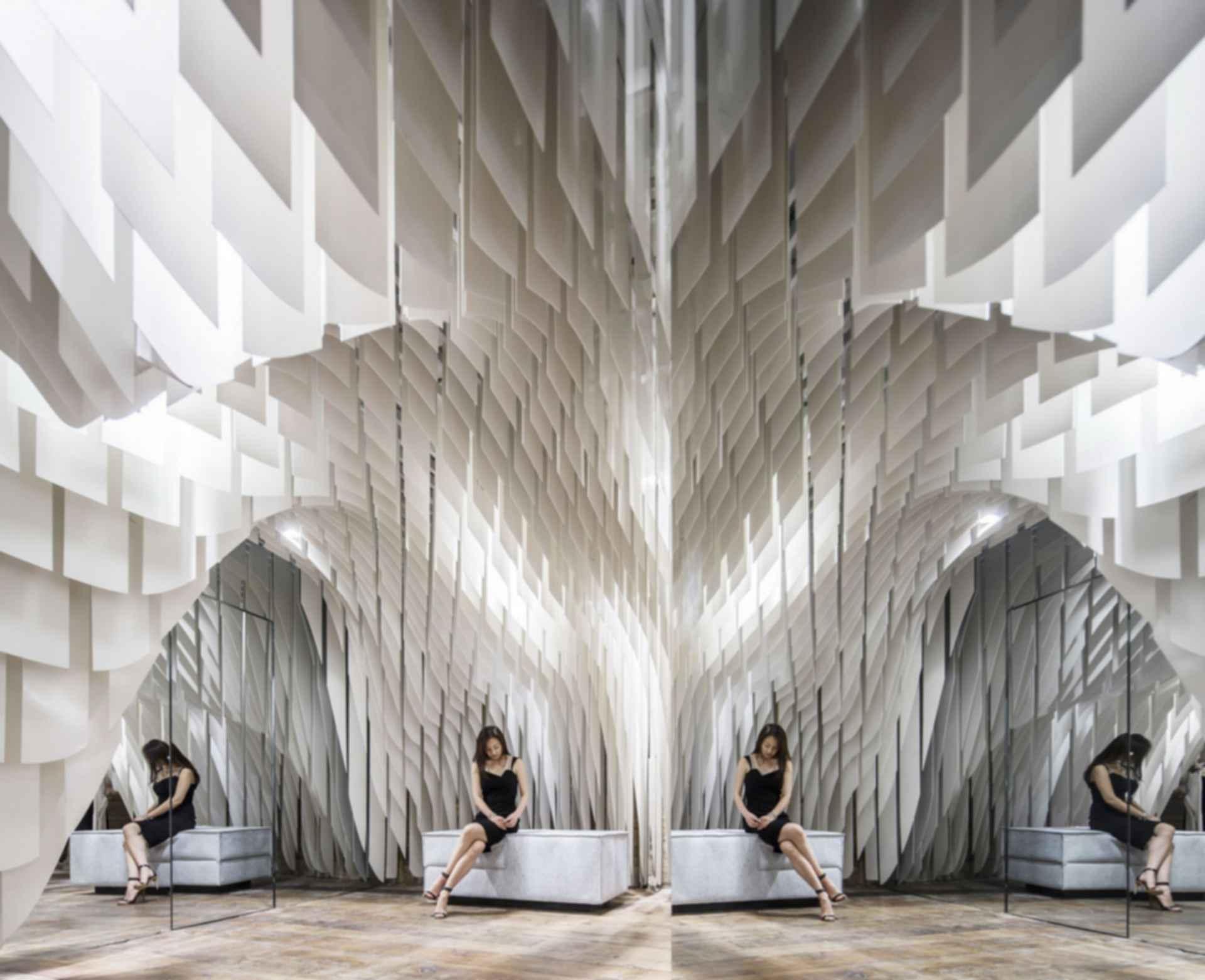 SND Fashion Store - Interior Seating