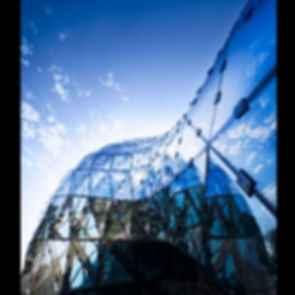 Salvador Dali Museum - Exterior/Glass