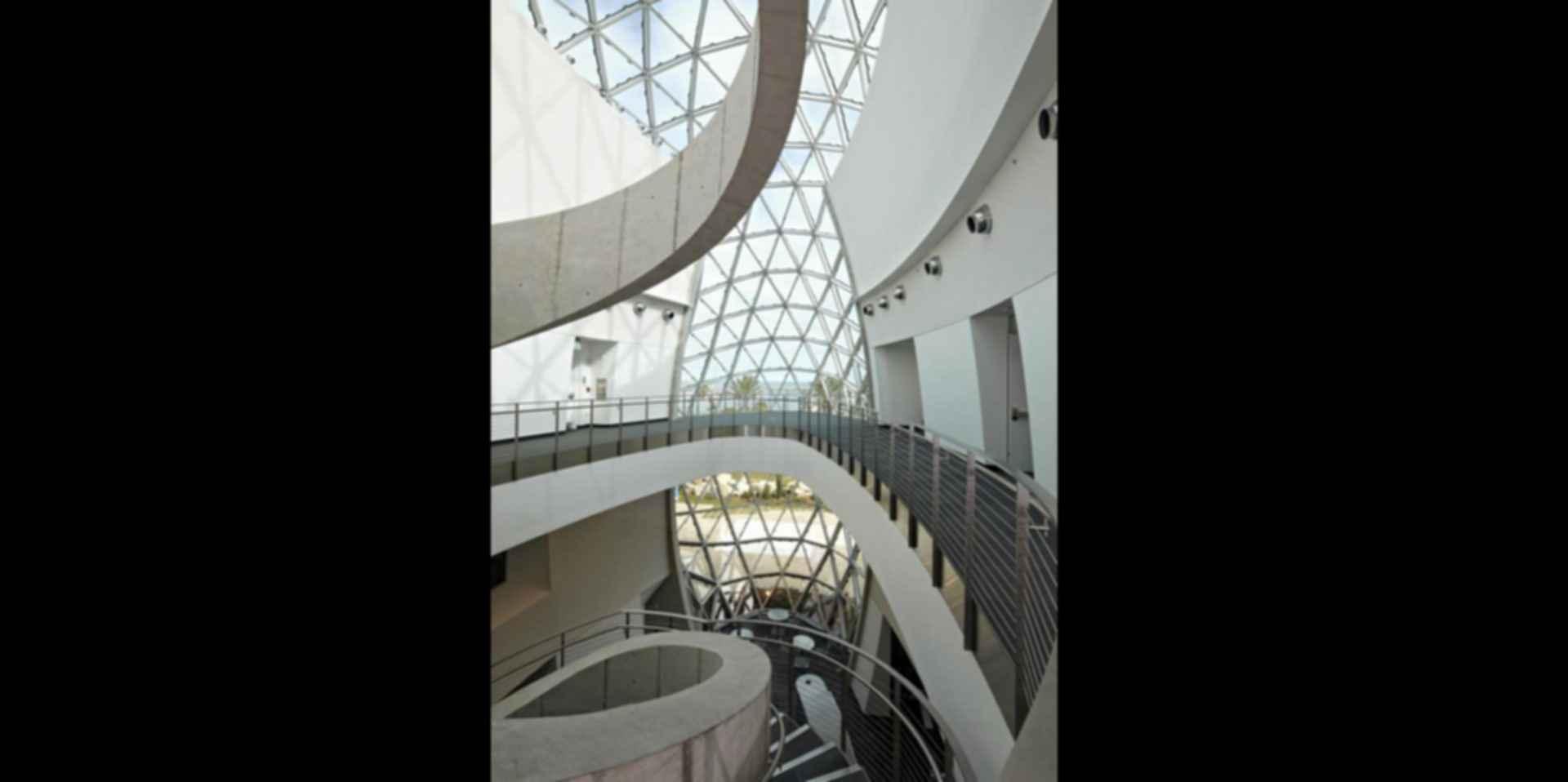 Salvador Dali Museum Interior Stairs Modlar Com
