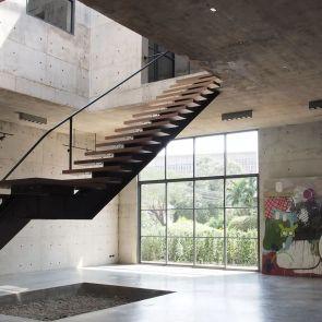 Solid Concrete Studio Gallery   Interior/Stairs