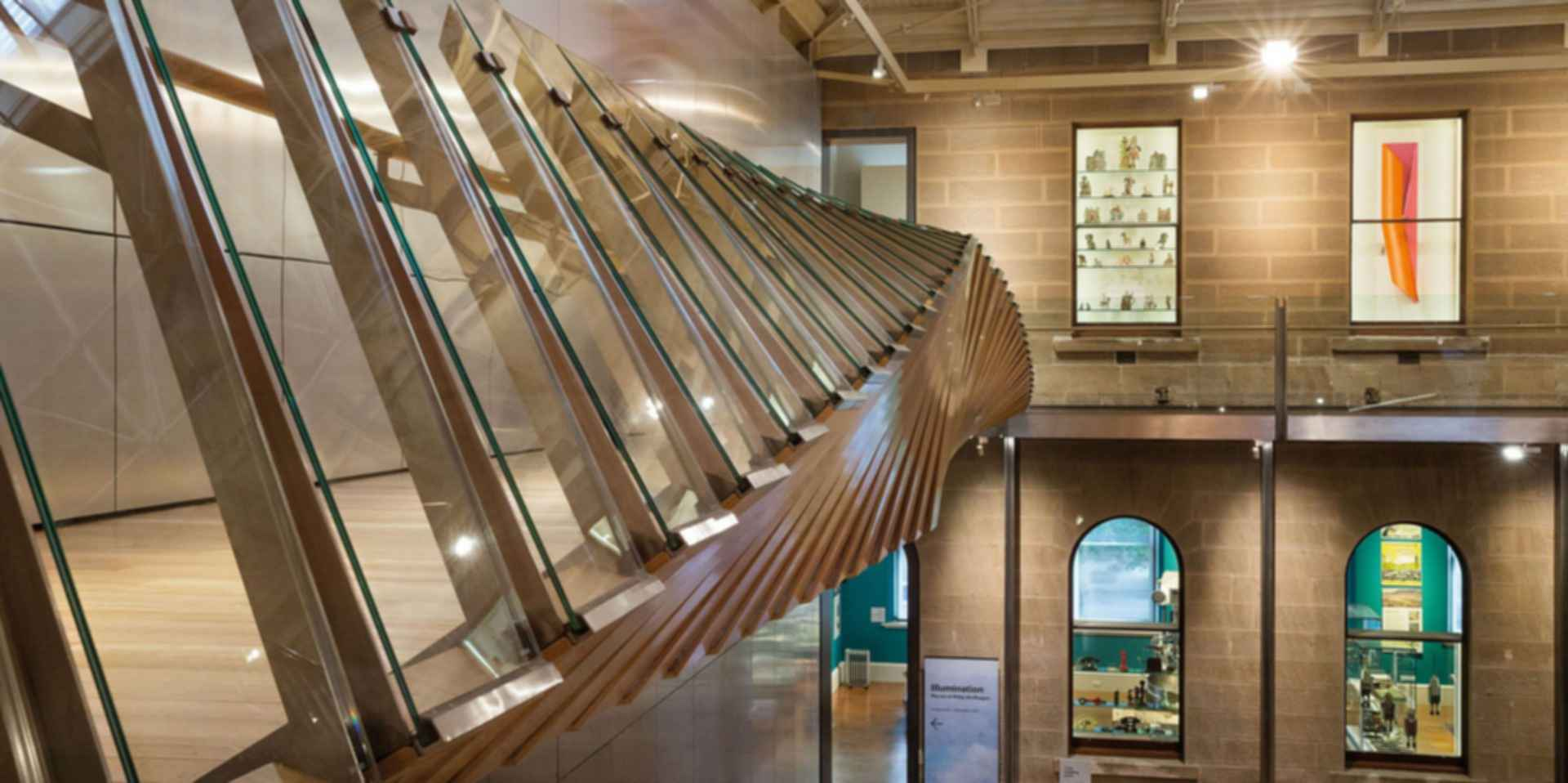 Tasmanian Museum and Art Gallery - Interior/Handrail Structure