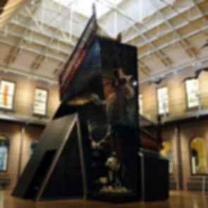 Tasmanian Museum and Art Gallery - Interior/Sculpture