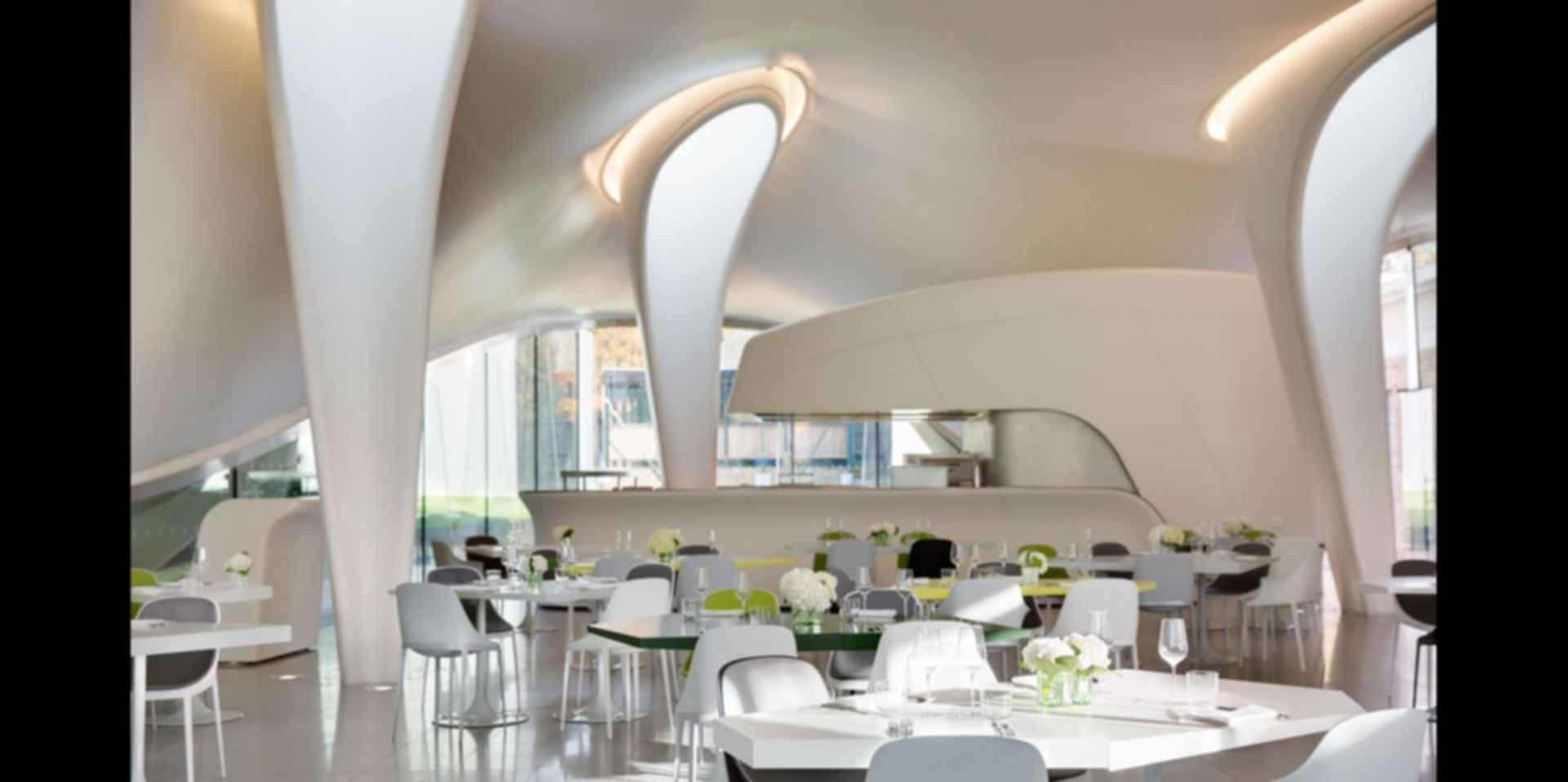 The Serpentine Sackler - Interior/Dining Area