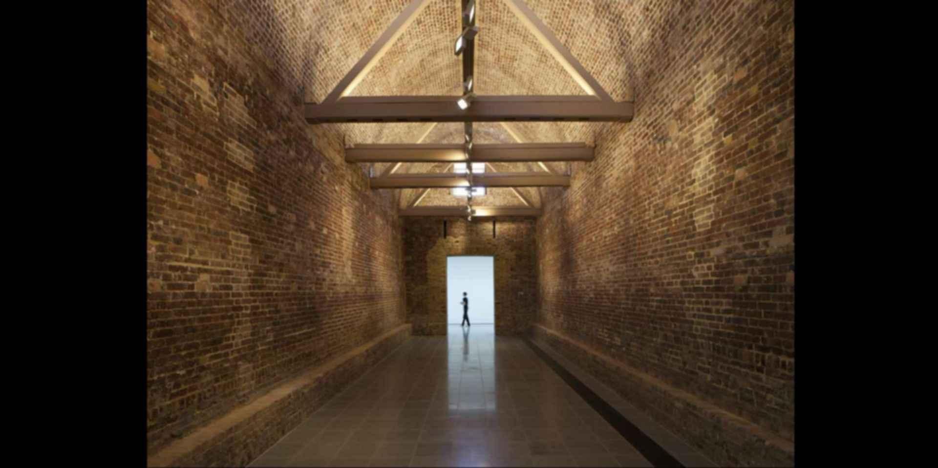 The Serpentine Sackler - Interior/Hallway