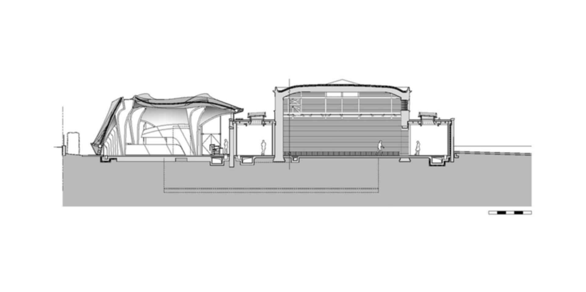 The Serpentine Sackler - Concept Design