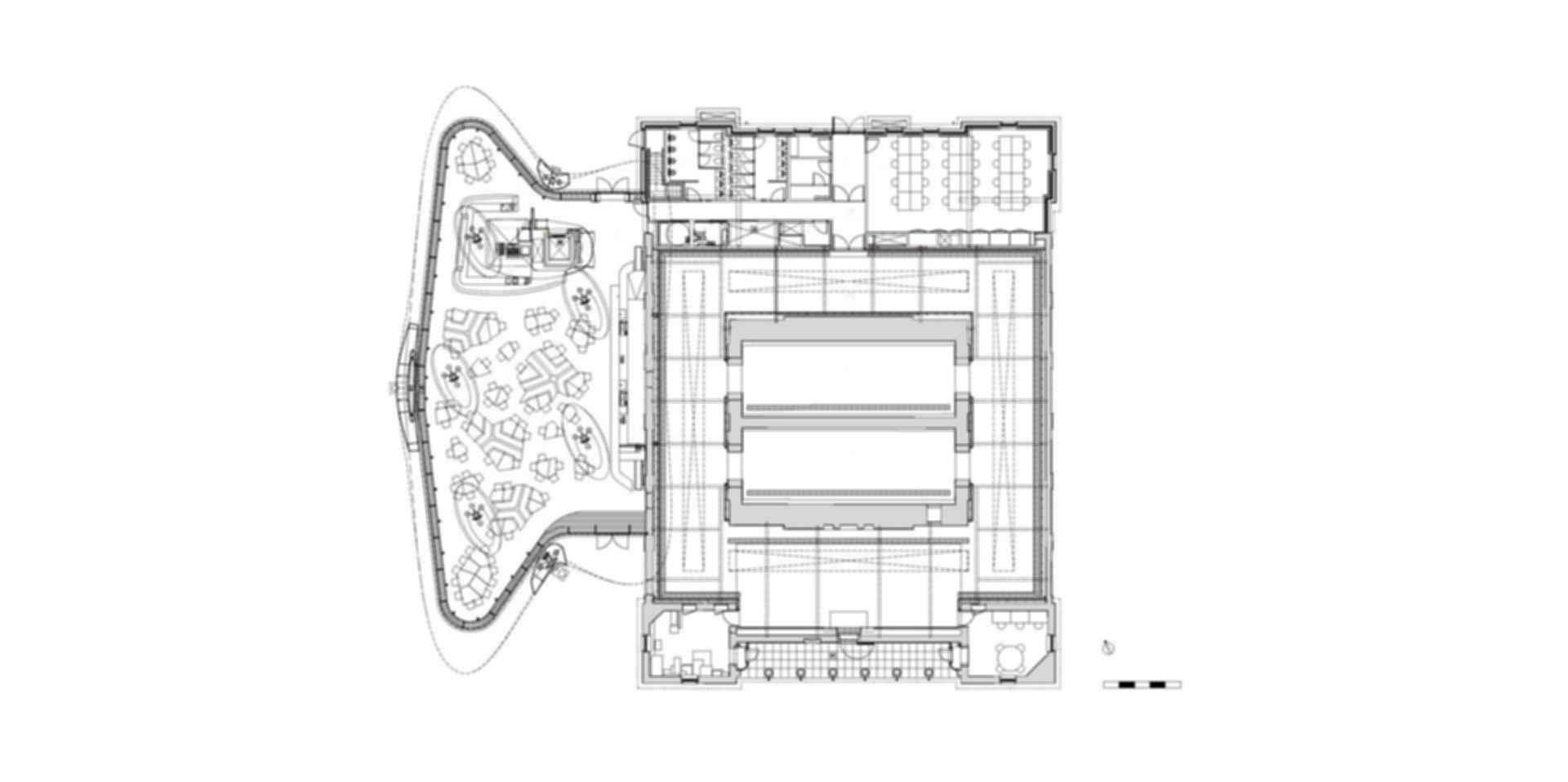 The Serpentine Sackler - Floor Plan