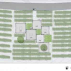The Bamboo Pavilion - Site plan