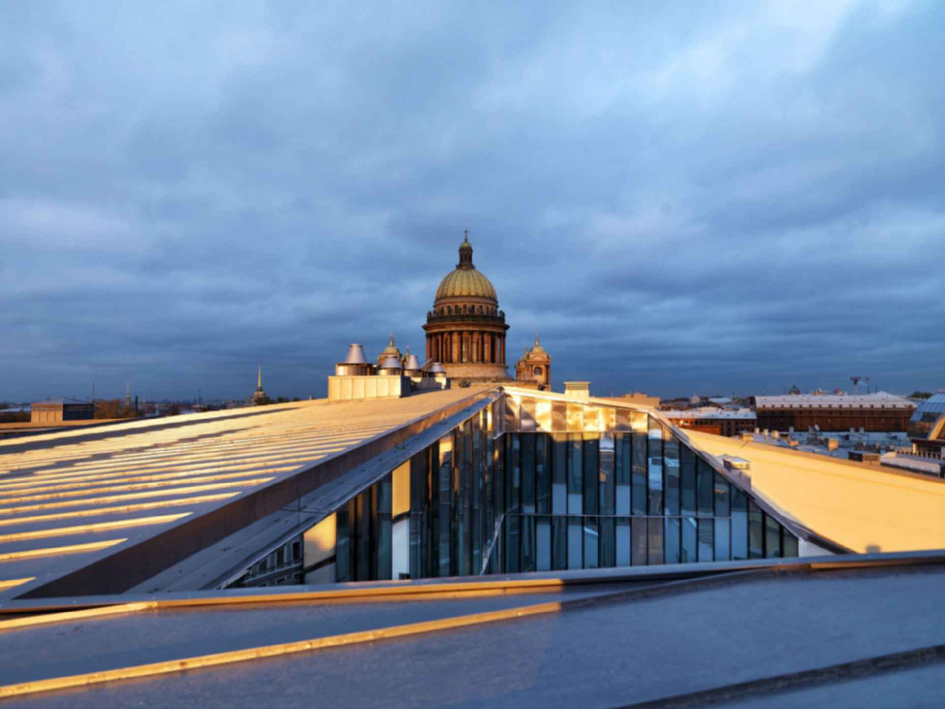 Quattro Corti Business Center - Rooftop View