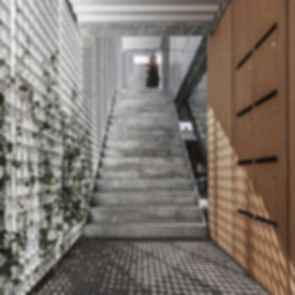 Sonnesgade 11 - Interior/Stairs
