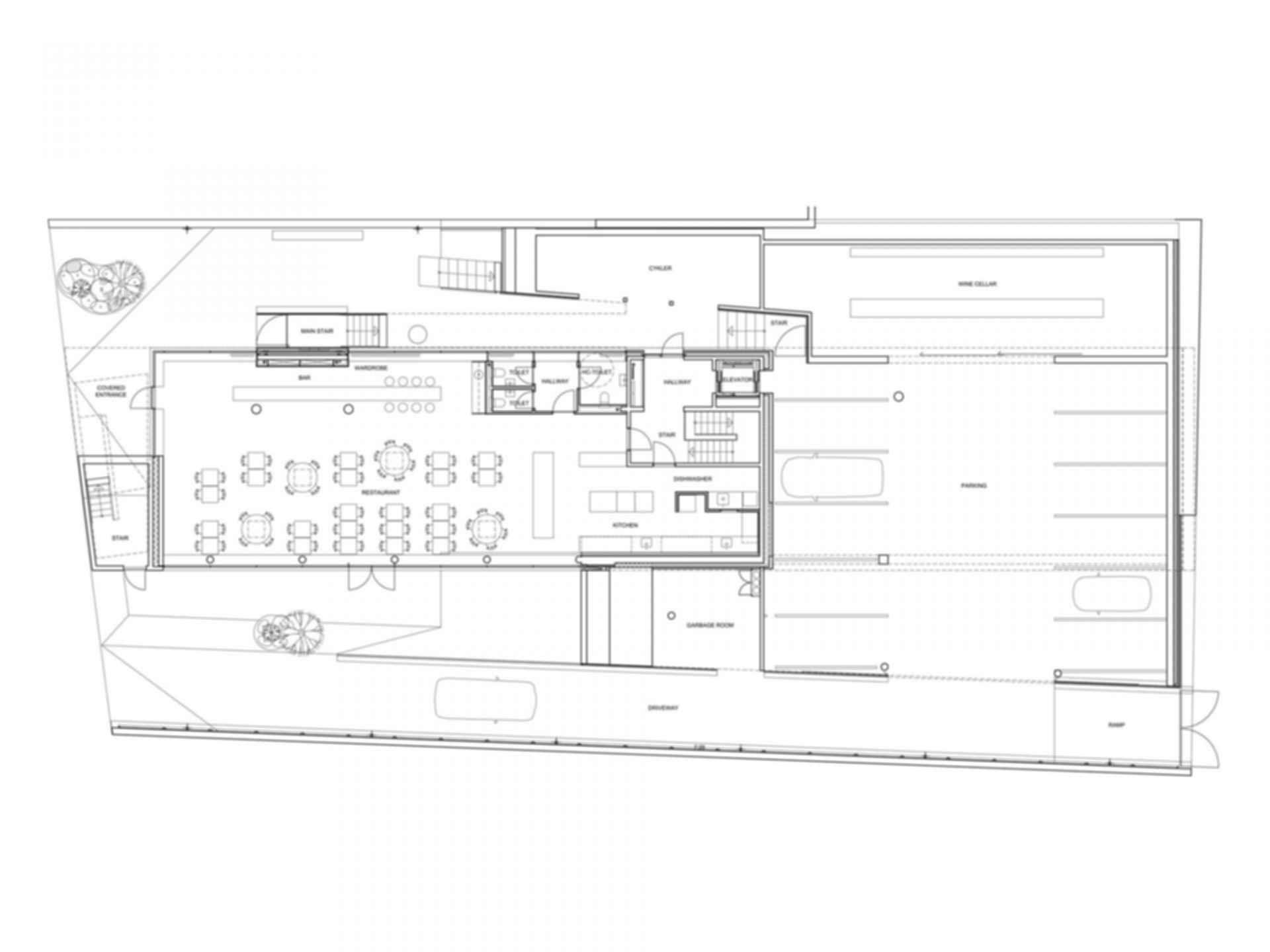 Sonnesgade 11 - Floor Plan