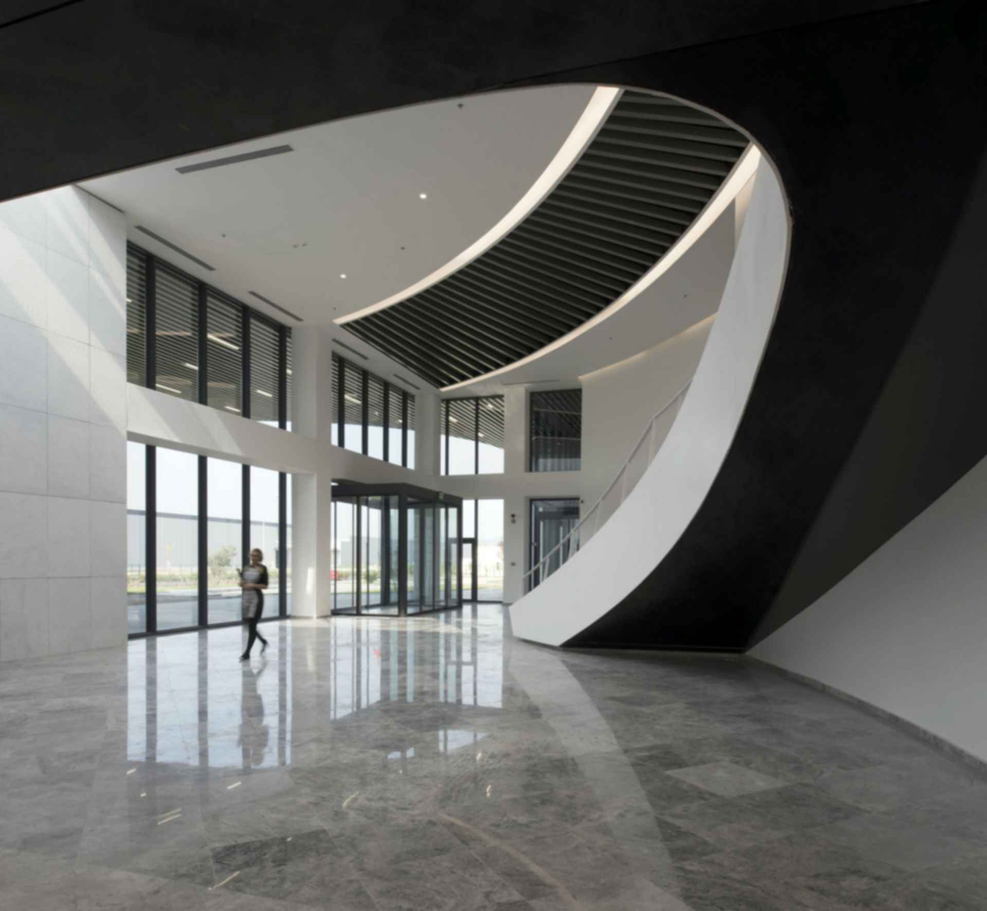 S2OSB Headquarters & Conference Hall - Interior