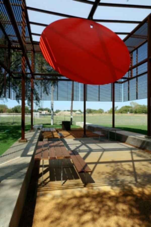 The Cotillion Park Pavilion - Interior