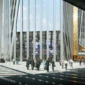 Hekla Tower - Concept Design/Entrance